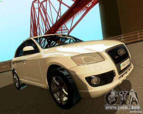 Audi Q5 for GTA San Andreas side view