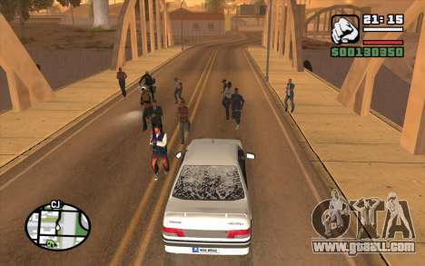 Resident Evil Dead Aim for GTA San Andreas