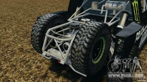Hummer H3 raid t1 for GTA 4 inner view