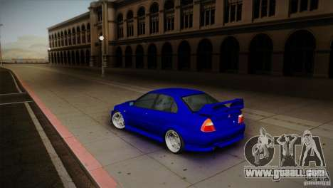 Mitsubishi Lancer Evolution lX for GTA San Andreas left view