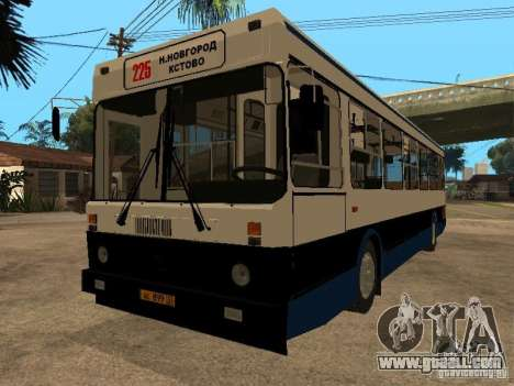 LIAZ 5256.00 for GTA San Andreas back left view