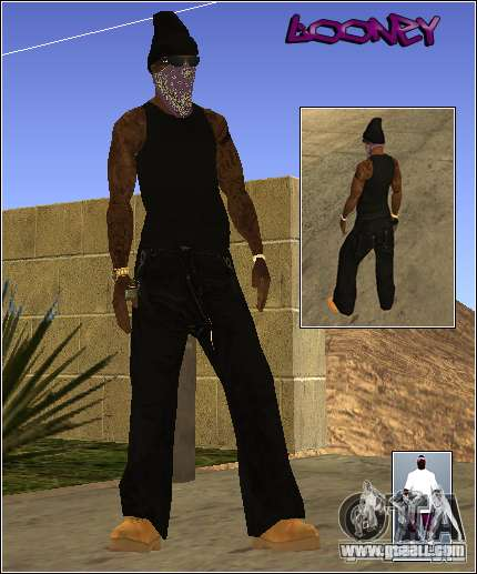 Skin Pack Getto for GTA San Andreas fifth screenshot