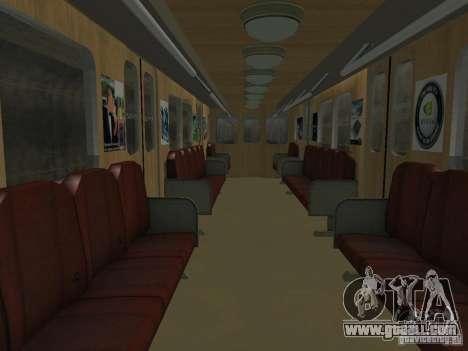 Metro e for GTA San Andreas side view