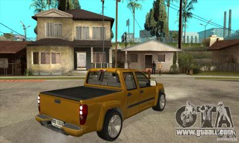 GMC Canyon 2007 for GTA San Andreas right view