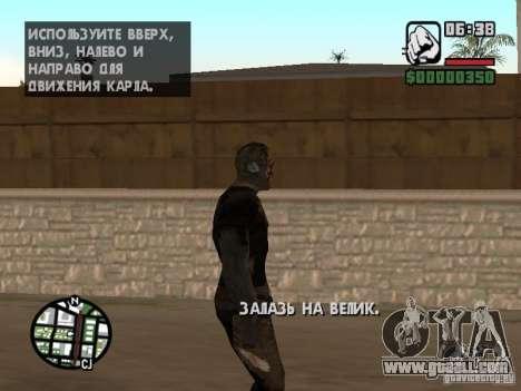 Zombe from Gothic for GTA San Andreas sixth screenshot