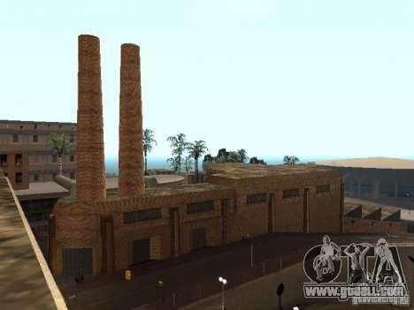 New textures in Los Santos for GTA San Andreas