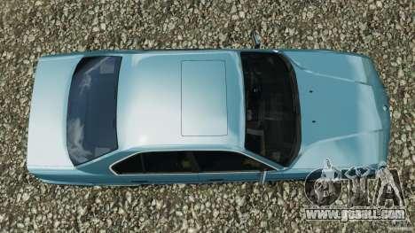 BMW E34 V8 540i for GTA 4 right view