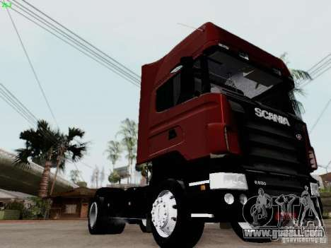 Scania R580 V8 Topline for GTA San Andreas back left view
