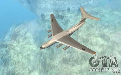 The IL-76 for GTA San Andreas left view