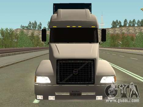 Volvo VNL for GTA San Andreas back view