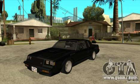Buick Regal Grand National GNX for GTA San Andreas