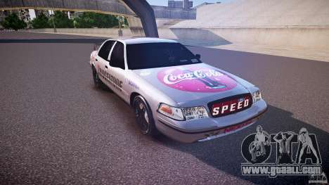 Ford Crown Victoria Tuning (Beta) for GTA 4 back view