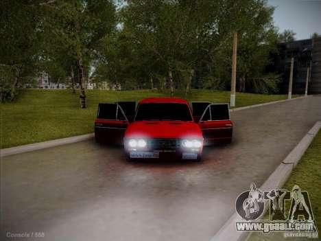 VAZ 2106 Pyatigorsk for GTA San Andreas back view