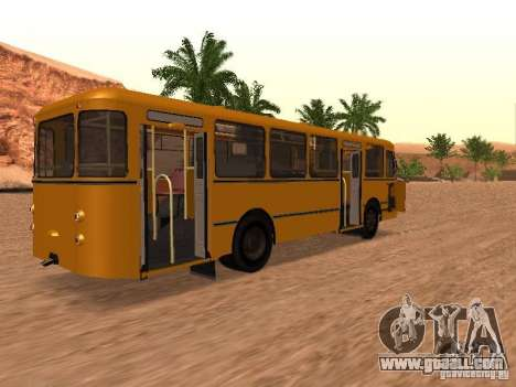 LIAZ 677 for GTA San Andreas left view