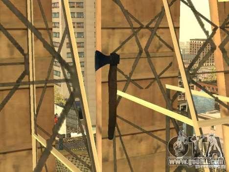 Axe for GTA San Andreas forth screenshot