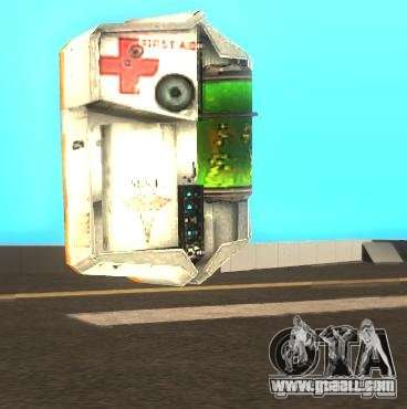 Armor and first aid kit from half-life 2 for GTA San Andreas second screenshot