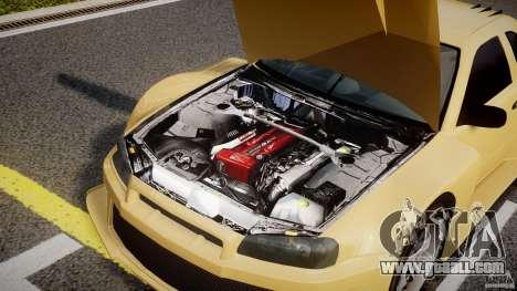 Nissan Skyline R34 v1.0 for GTA 4 right view