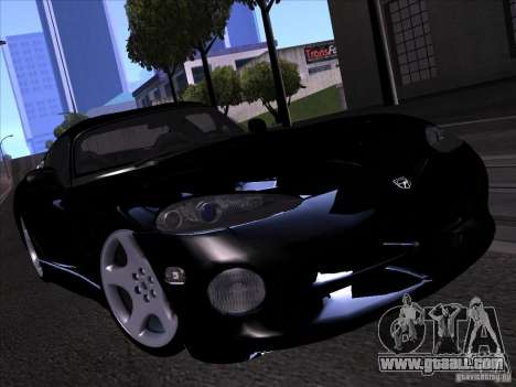 Dodge Viper for GTA San Andreas interior