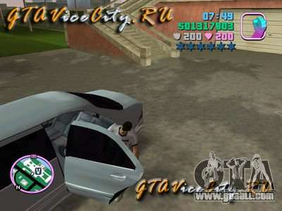 Mercedes-Benz S600L (W220) with driver for GTA Vice City