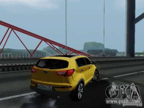 KIA Sportage for GTA San Andreas left view