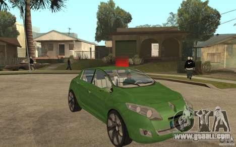 Renault Megane III for GTA San Andreas