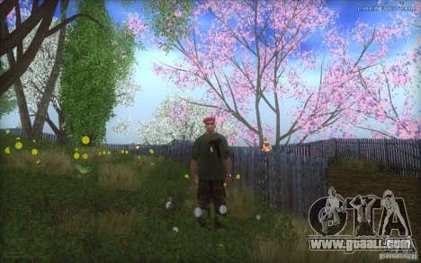 Spring Season for GTA San Andreas