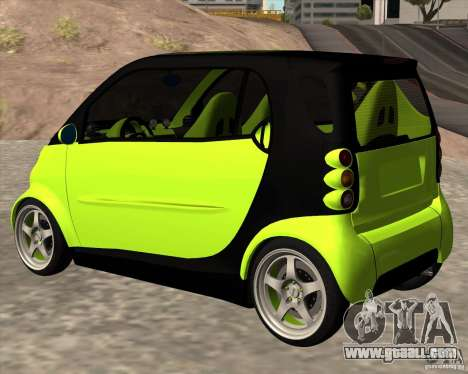 Smart Alienware for GTA San Andreas left view