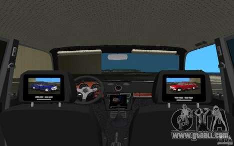 VAZ 2106 Tuning v3.0 for GTA Vice City inner view