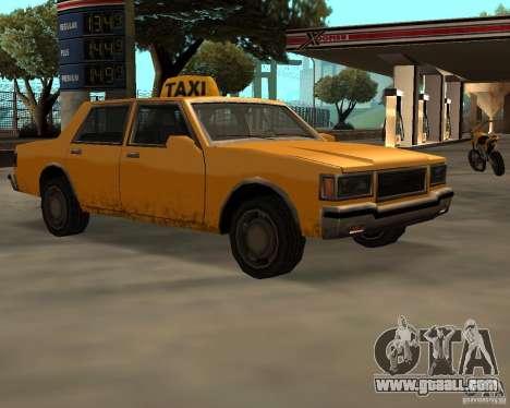 LV Taxi for GTA San Andreas