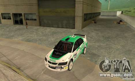Mitsubishi Lancer Evolution IX for GTA San Andreas engine