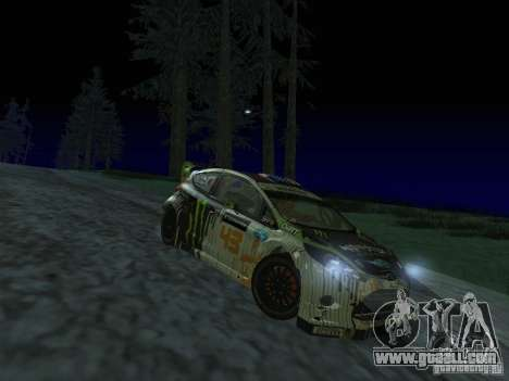 Ford Fiesta Ken Block WRC for GTA San Andreas