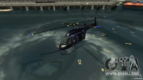NYC Helitours Texture for GTA 4 left view
