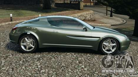 Daewoo Bucrane Concept 1995 for GTA 4 left view