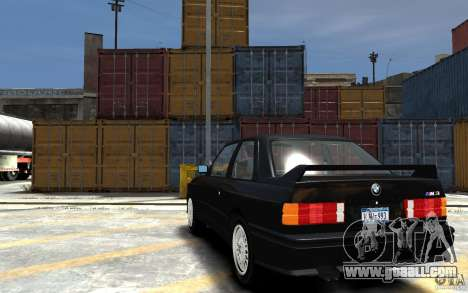 BMW M3 E30 for GTA 4 back left view
