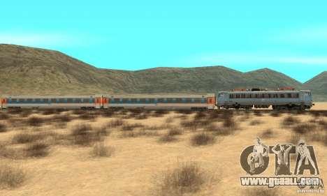 Mav V63 w AMX Inter-City Wagons for GTA San Andreas left view