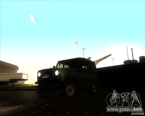 UAZ 31512 Military for GTA San Andreas