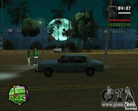 Moon for GTA San Andreas second screenshot