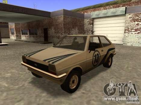 Ford Fiesta 1981 for GTA San Andreas