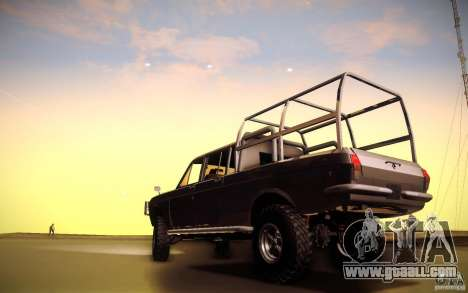 GAZ 2402 4 x 4 PickUp for GTA San Andreas back view