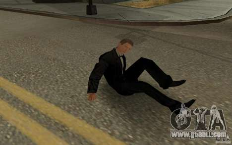 Agent 007 for GTA San Andreas eighth screenshot