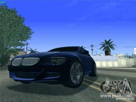BMW M6 2010 Coupe for GTA San Andreas left view