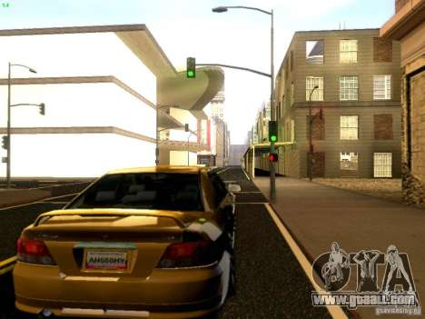 Mitsubishi Galant 2002 for GTA San Andreas right view