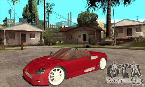 Spyker C8 Spyder for GTA San Andreas