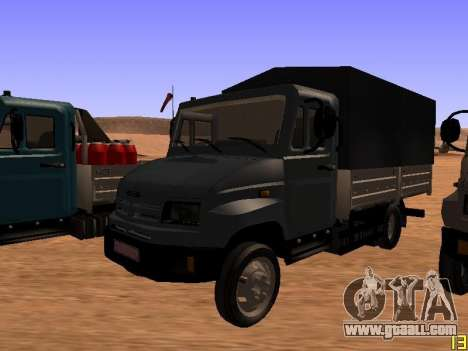 ZIL 5301 Goby for GTA San Andreas inner view