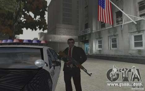 Animation of GTA IV v 2.0 for GTA San Andreas fifth screenshot