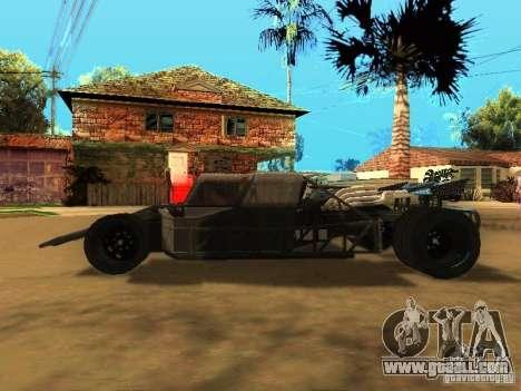 Fast & Furious 6 Flipper Car for GTA San Andreas right view