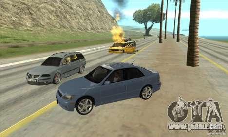 Real ENB Settings v3.0 The End version for GTA San Andreas third screenshot