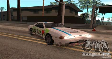 Paintjob for Elegy for GTA San Andreas left view