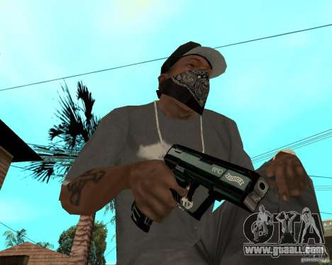 Walther cp99 for GTA San Andreas second screenshot