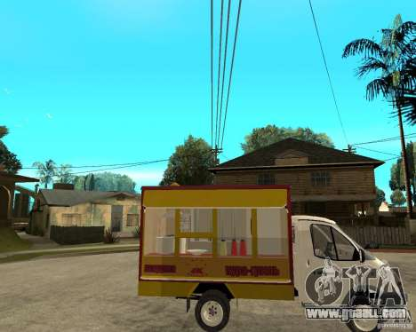 Gazelle Gaz-3302 Grill for GTA San Andreas right view